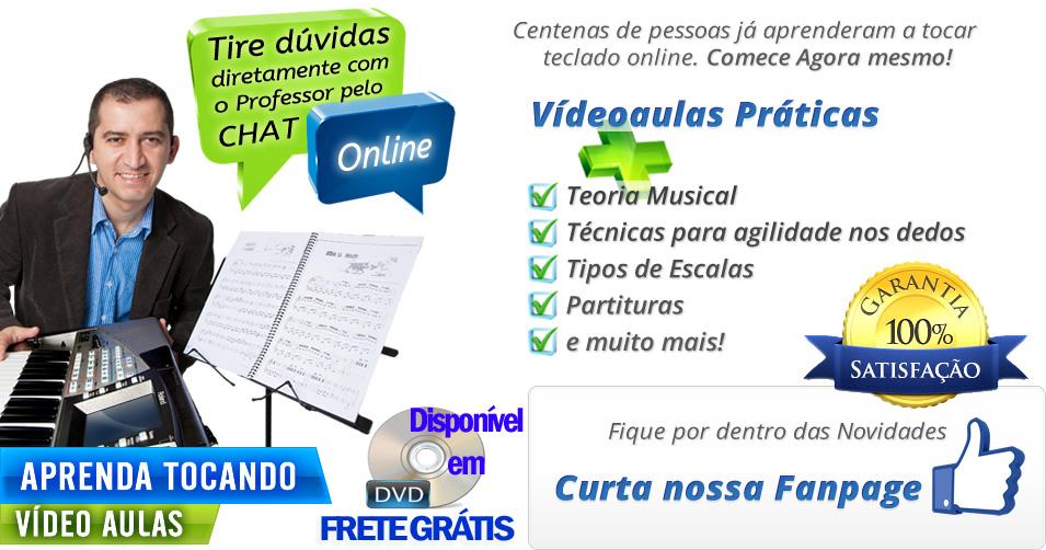 Curso Online De Teclado Para Iniciantes Grátis